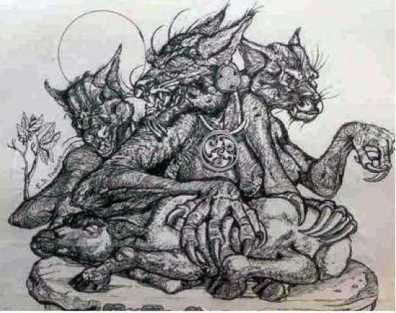 werewolf_woodcut