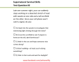 Microsoft Word - Supernatural Survival Skills2