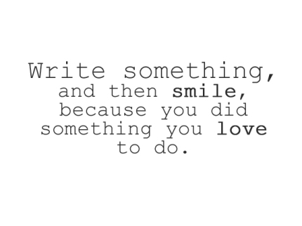write_smile