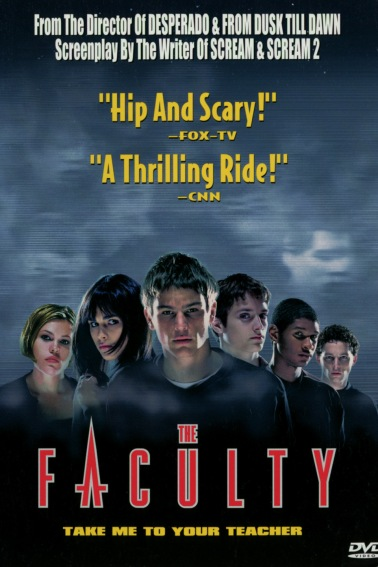 Movie poster for the film The Faculty